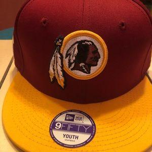 Youth Maroon and Gold Washington Redskins SnapBack